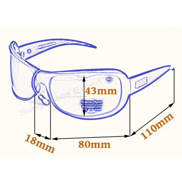 509dd1e111d ... Roberto Marco Polarized Sunglasses for Women Drivers