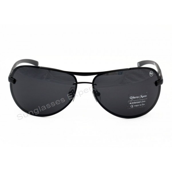 41f75381673 ... Roberto Marco Polarized Sunglasses Grey Lenses
