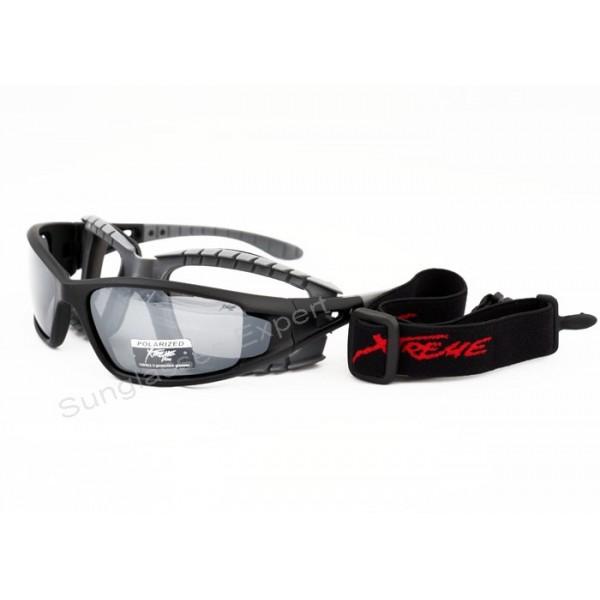0295e4bf24c Xtreme 2in1 Polarized sport Sunglasses Goggles Light Mirrored Lenses for  Kayaking