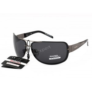 Matrix Polarized Sunglasses Grey Lenses